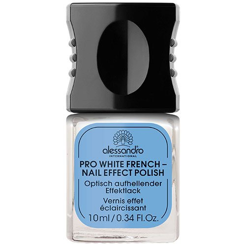 Alessandro professional manicure brighten & whiten Pro White French - nail effect Polish 10 ml by alessandro 03-018