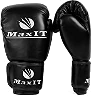 MaxIT Pro Style Youth Boxing Gloves   Padded - for Kids Boys or Girls   Junior Hand Glove Set for Sparring, Bo