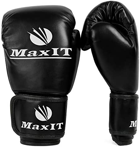 Kickboxing for Kids Boys or Girls Junior Training MAXIT Pro Style Youth Boxing Gloves Padded Fighting Sports Boxing Junior Hand Glove Set for Sparring Punching Bag