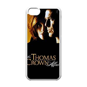 Alta resolución U1F02 The Thomas Crown Affair cartel O6X6GC funda iPhone funda caso 5c teléfono celular de cubierta AL3OCD0FE blanco