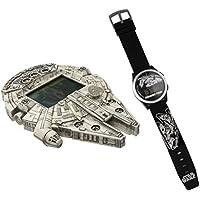 Space Star Wars Relógio e Game Candide Branco/Preto