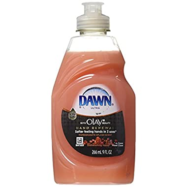 Dawn Ultra Hand Renewal Dishwashing Liquid with Olay Beauty Pomegranate Splash Scent, 9 Oz