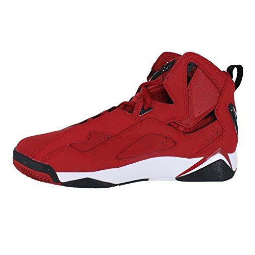 Jordan da Uomo True Flight Scarpa da Basket Gym Red White Black Black