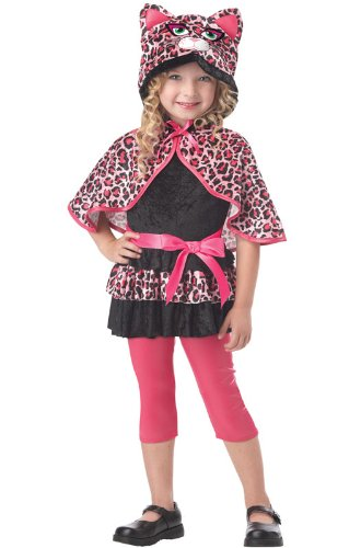 [California Costumes Cutesy Kitty Toddler Costume, 3-4] (Child Pretty Kitty Costumes)