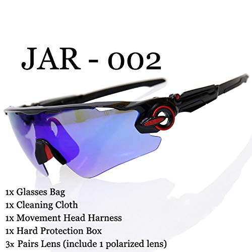 Polarized Cycling Glasses UV400 Cycling Sport SunGlasses Mountain Bike Goggles Racing Road MTB Bicycle Eyewear For ()