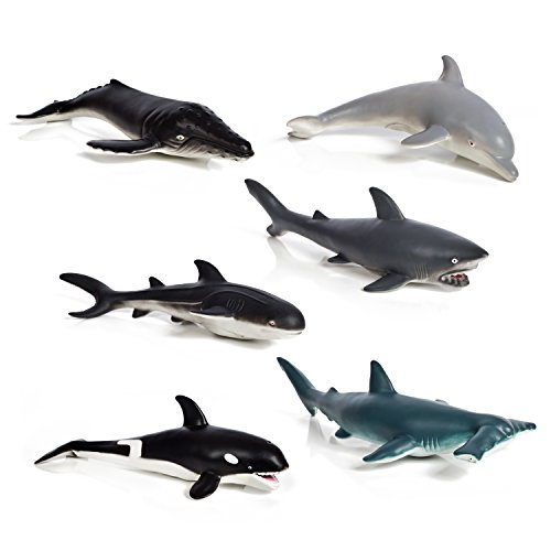 shark and whale playset - 4