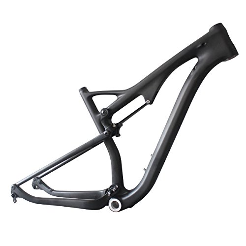 ICAN 29er Carbon Tiral Bike Frame Full Suspension BSA 15.5 inch Rear 12x142mm Bicycle Full Suspension Frames