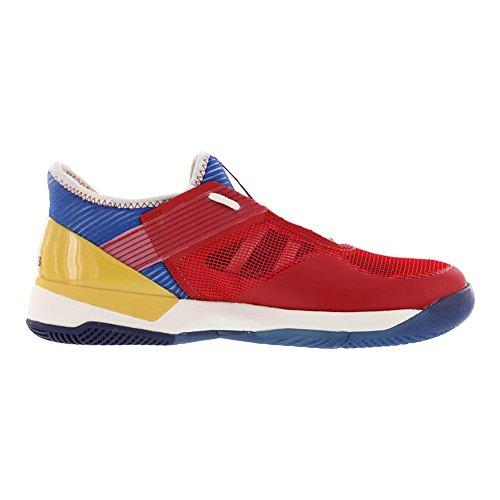 Adidas | Adidas | Women`s Adizero Ubersonic 3 Pharrell Williams Tennis Sko Chalk Hvid And Blue | Kvinder `s Adizero Ubersonic 3 Pharrell Williams Tennissko Kridt Hvid Og Blå | S81005-f17 S81005-f17 45VpbO4fBt
