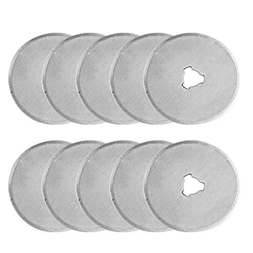 ZEROKIWI Replacement Blades for 45mm Rotary Cutters (10 Blades)