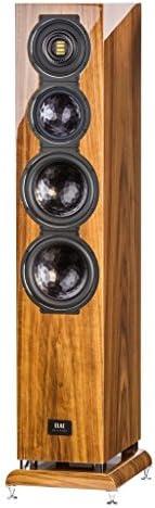 ELAC FS509VX Floor Standing Home Speaker Walnut
