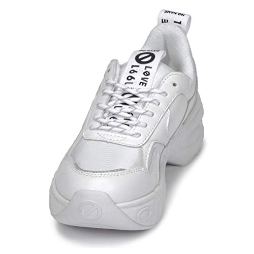 Unbekannt Donna Eu 41 Bianco Sneaker bianco ASrqvcPHwA
