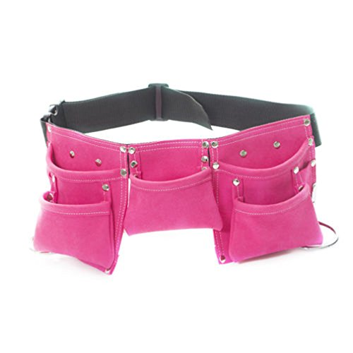 Kids Tool Belt, Child's Tool Apron, Candy Pouch For Costumes Dress Up Role Play ()