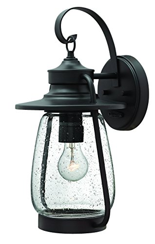 Hinkley 2094SB Nautical One Light Wall Mount from Calistoga collection in Bronze/Darkfinish, (Lights Patio Style Spanish)