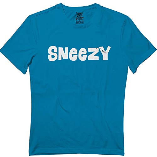 Sneezy Dwarf Halloween Family Matching Costume Team Group Tshirt Sapphire]()