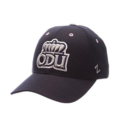 子羊不屈分解するZephyrメンズOld Dominion Monarchs Competitor Zwool調節可能な帽子ネイビー