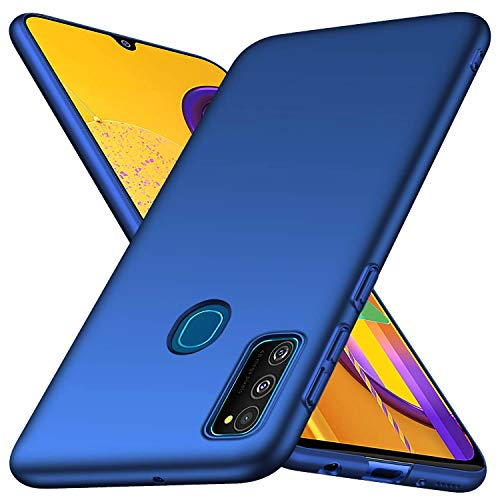 GoldKart All Sides Protection 360* Ulta Slim Matte Hard Back Case Cover for Samsung Galaxy M21 / M30s - (Blue) (B07Z44152J) Amazon Price History, Amazon Price Tracker