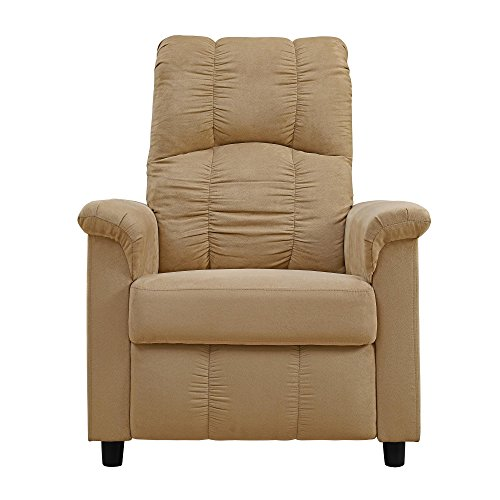 Dorel Living Slim Recliner, Beige ()