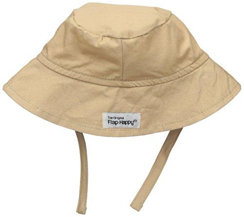 Flap Happy Unisex-Baby Newborn bucket Hat with Chin Straps