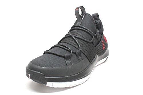 Mens Retro Trainers - Men's Jordan Trainer Pro Black/Gym Red-White (10.5 D(M) US)