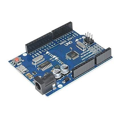 Mustwell 5 Sets Nano 3.0 Controller Compatible with Nano CH340 USB Driver with Cable Nano V3.0