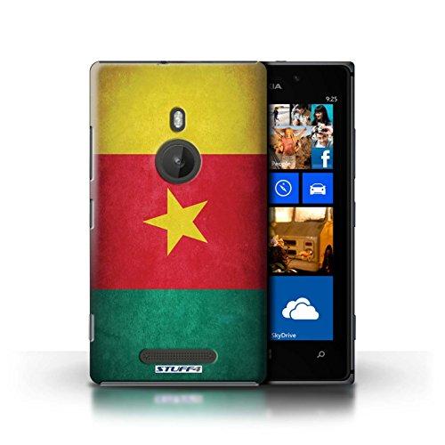 Kobalt® Imprimé Etui / Coque pour Nokia Lumia 925 / Cameroun conception / Série Drapeau