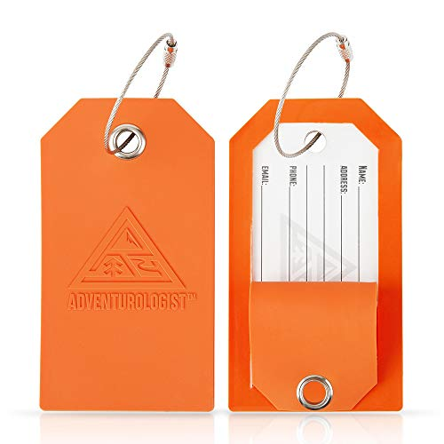 - TRAVEL LUGGAGE TAGS - Best Bag Tag For Men and Women to Stop Loss of Suitcases