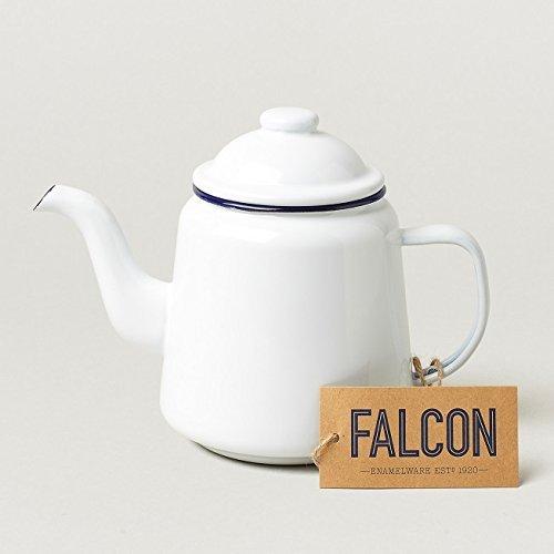 Falcon Enamel - FALCON Enamelware Falcon enamel ware teapot white