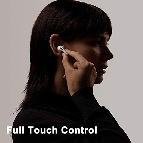 Wireless Earbuds Bluetooth 5.0 Headphones with Charging Case Noise Cancelling 3-D Stereo Headphones Built in Mic in Ear Ear Buds Pop-ups Auto Pairing Headphones for iPhone/Android/Apple AirPods Pro