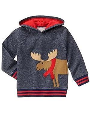 Baby & Toddler Boy Moose Hoodie