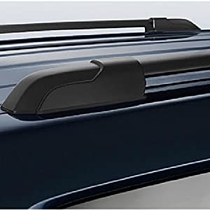 """VIOJI 1 Pair Black Aluminum 42.28"""" Mount Onto the Rooftop Roof Rack Top Side Rails Carries Luggage Carrier For 09-15 Honda Pilot"""