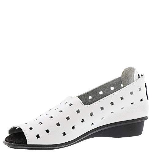 Sesto Evonne Women's White Flat Meucci rqpx6wr