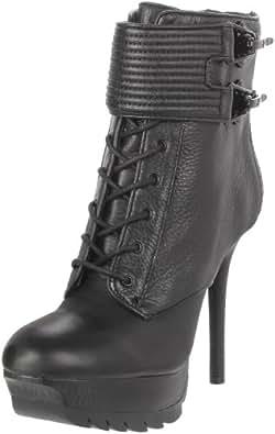Sam Edelman Women's Vixen Lace-Up Boot,Black,6 M US