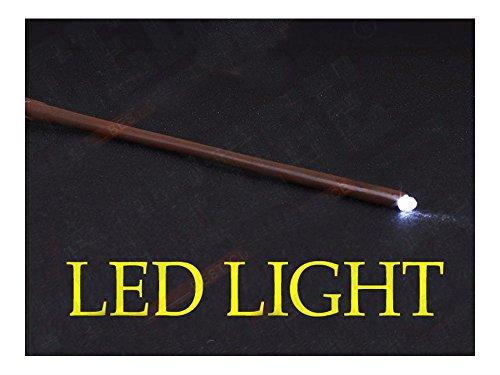 Cosplay Halloween Magic Wand LED LIGHT UP ()