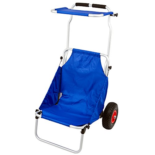 Rage Powersports BFC-BLUE Blue Folding Beach Fishing Chair (Folding Atv Stand)