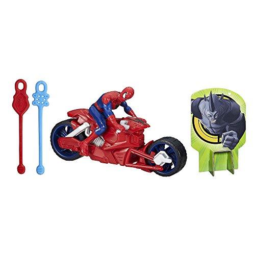 Marvel Ultimate Spider-Man Web Warriors Spider-Man Figure with Spider Speedster Vehicle ()