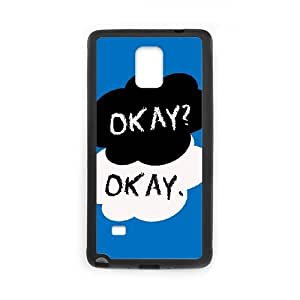 OKAY Samsung Galaxy Note 4 Cell Phone Case Black JR5241841