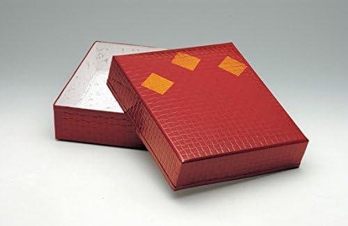 茶道具商 左座園 茶道具 収納箱 塗文庫 色紙用