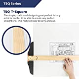 Pacific Arc 24 Inch T Square, Traditional Maple
