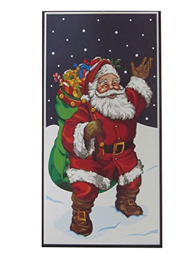 Holiday Essentials Santa Door Cover - 30