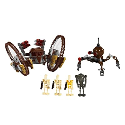 LEGO Star Wars Hail-Fire Droid & Spider Droids: Toys & Games