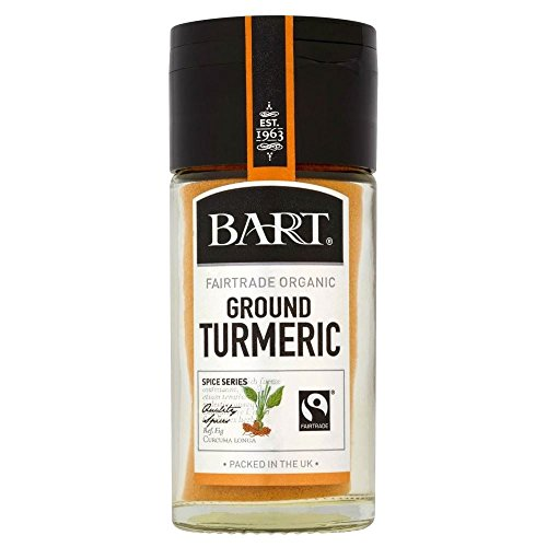 Bart Fairtrade Ground Turmeric (36g) - Pack of 2 by Bart