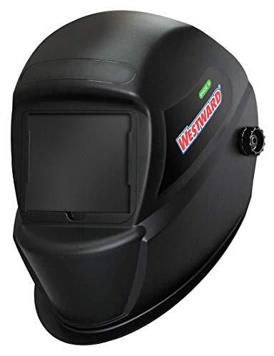 Westward Passive Welding Helmet, 10 Lens Shade, 4.33