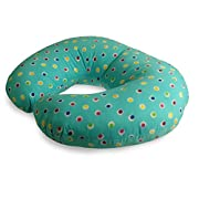 NurSit Basic Nursing and Infant Support Pillow, Dots Print, 100% Polyester, Hypoallergenic and Machine Washable
