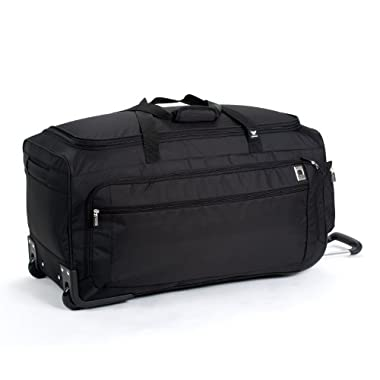 Delsey Luggage Helium Sky 28 Inch Trolley Duffle, Black, One Size