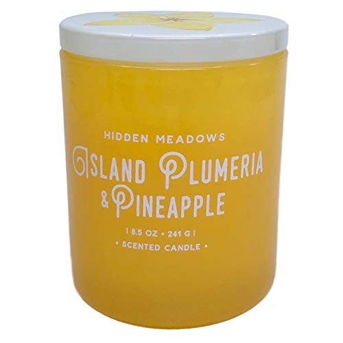 Island Plumeria (DW Home Island Plumeria and Pineapple Scented Candle)