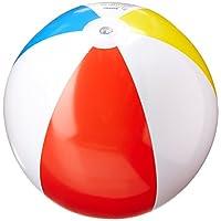 "Intex Glossy Panel Colorful Beach Ball Inflatable Pool, 20"""