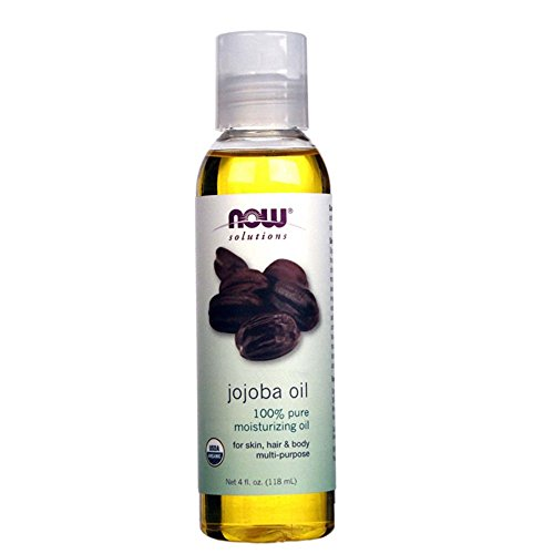 NOW Solutions Certified Organic Jojoba Oil, 4-Ounce 412OjgQfFXL
