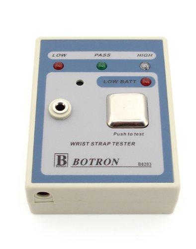 Botron B8203 Portable Wrist Strap Tester