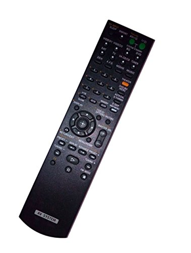 Replaced Remote Control for Sony STR-KM5000 RM-AAU024 HTSS2300 1-480-589-11 STR-DG720 HTD-DW7000 Home Theater Audio/Video Receiver AV System -  JustFine