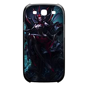 Elise-001 League of Legends LoL For Case Samsung Galaxy Note 2 N7100 Cover Plastic Black